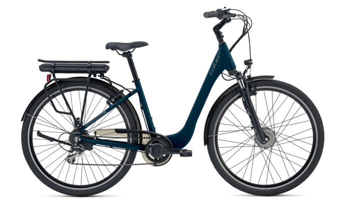 City 700c E-bike Coluer Greenland Blue