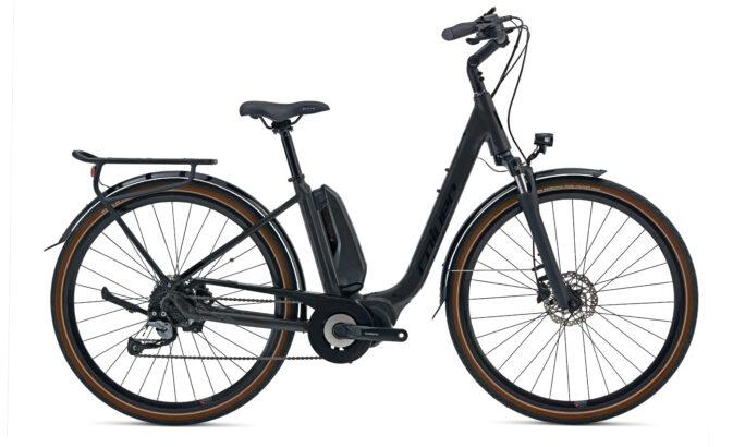 City 700c E-bike Coluer Natour Black