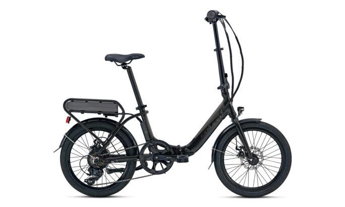 Folding E-bike Coluer eTransit Lover Black