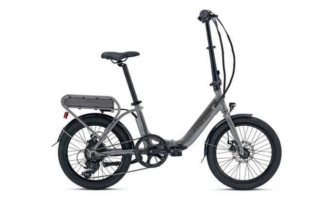 Folding E-bike Coluer eTransit Lover Gray